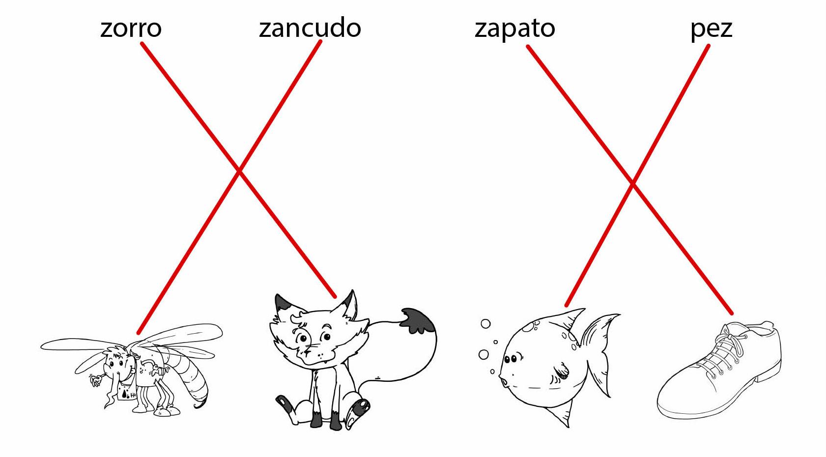 Dibujos Para Colorear Que Empiecen Con La Letra A: Dibujos Que Empiecen Con La Letra Z